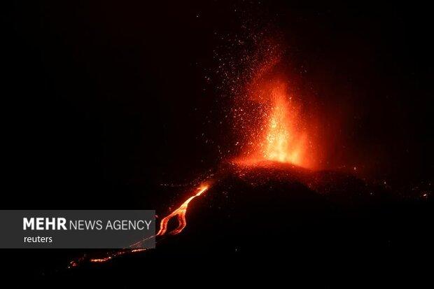 تخلیه ۵ هزار نفر در پی فوران آتشفشان در جزایر قناری
