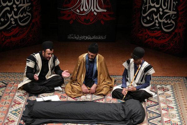 شهادت مختار در تالار رودکی روایت شد/ شنیدن نوحههای ۱۵۰ ساله