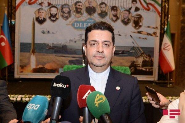 Tehran, Baku enjoying strong relations: envoy