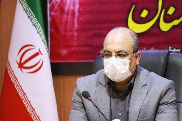 استان سمنان از پیک پنجم همهگیری ویروس کرونا خارجشد