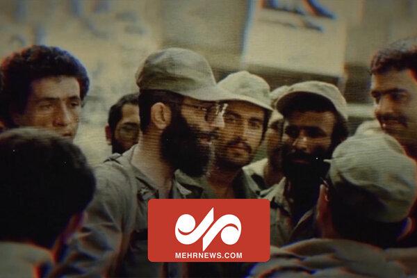 مصاحبه با رهبرانقلاب در خط مقدم جبهه