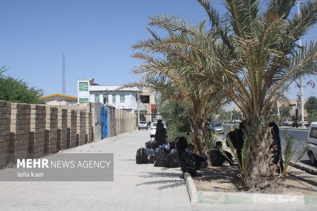 زائران سرگردان در مهران
