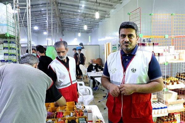 پرستاری مرد طلایی المپیک از زائران امام حسین (ع) در کربلا