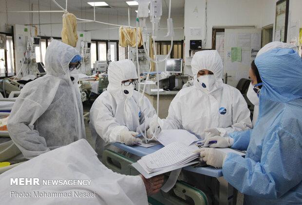 آمار تفکیکی بیماران کرونایی در همدان
