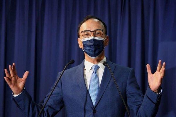 طرفدار مذاکره با چین، رئیس اپوزیسیون دولت تایوان شد