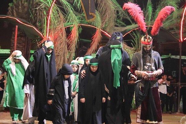 برگزاری تعزیه خوانی در سطح شهر کرمان