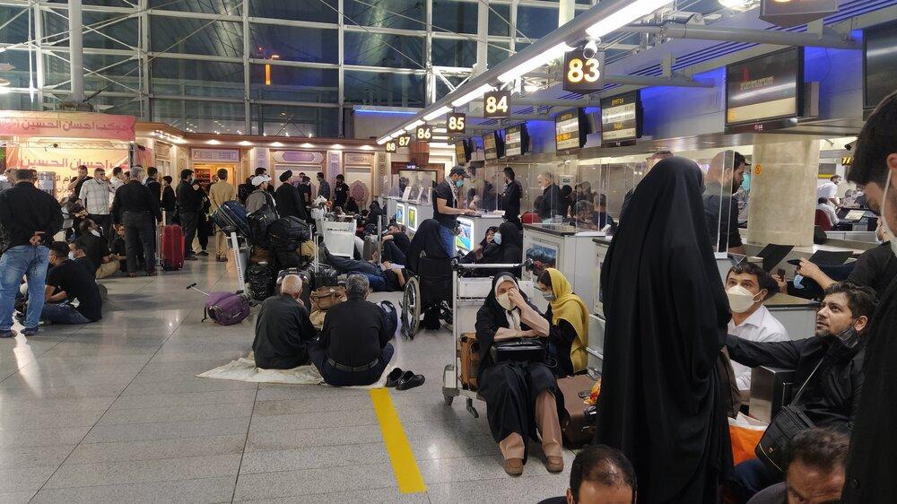 فرودگاه،امام،خميني،ره،پرواز،مسافران،زائران،توافقنامه،نجف،ارب ...