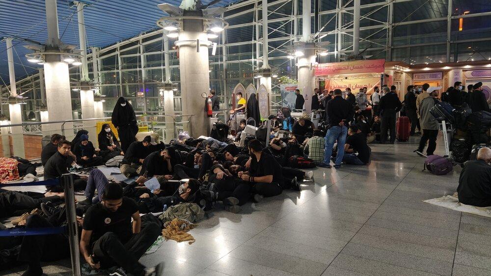روزانه ۵۰ پرواز به عراق داریم/ علت ازدحام فرودگاه امام چه بود؟