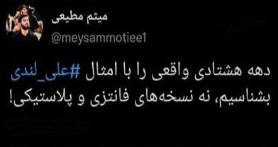 واکنش مداحان مشهور کشور به درگذشت علی لندی قهرمان ۱۵ساله