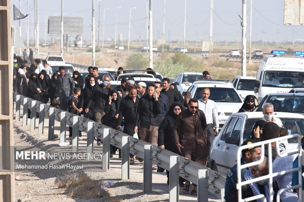 قطار شلمچه به خرمشهر فعال شد/ورود روزانه ۲۰ هزار نفر از مرزها