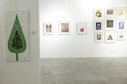 مراسم افتتاحیه نمایشگاه سوگواره هنر عاشورایی