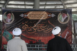 فعالیت پرشور مبلغان و طلاب در پایانه مرزی مهران