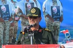 آمریکاییها در خلیج فارس ۶ سیلی محکم از ما خوردهاند/ چشم هر متجاوزی را کور میکنیم
