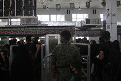 زائران بازگشتی از مرز مهران تحت غربالگری قرار میگیرند
