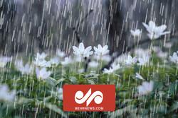 اولین باران پاییزی در مازندران