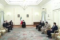 Cumhurbaşkanı Reisi, Belarus Büyükelçisini kubul etti