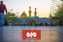 گزارش تصویری خبرنگار مهر از بین الحرمین