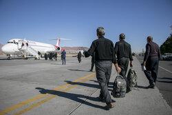 پروازهای ویژه ایام اربعین از تبریز به نجف