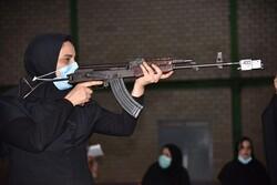مسابقه تیراندازی به مناسبت هفته دفاع مقدس در فومن برگزار شد
