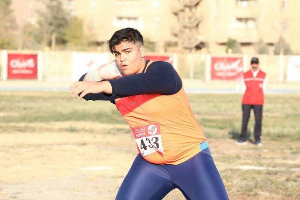 حضور ورزشکار خراسان شمالی در مسابقات دو و میدانی آسیا