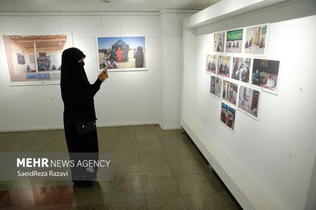 مراسم افتتاحیه نمایشگاه سیزدهمین  سوگواره هنر عاشورایی