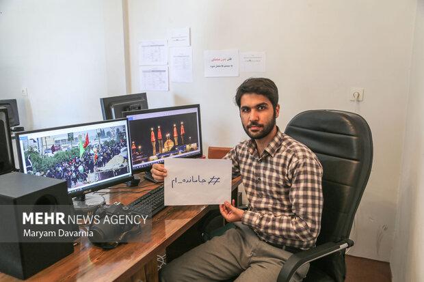حسرت عاشقی/ یک قاب از جاماندگان مراسم پیاده روی اربعین حسینی
