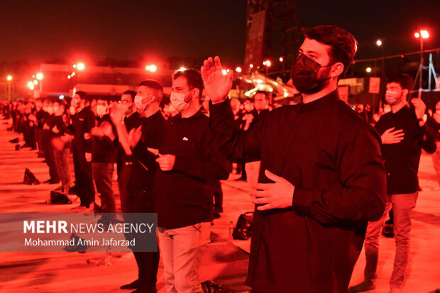 إقامة مراسم بمناسبة أيام الأربعين في مقرّ القوات الجوية للجيش/ بالصور