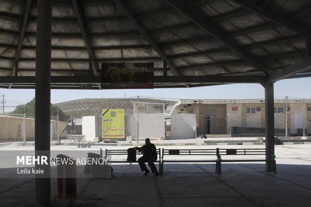 آخرین وضعیت پایانه مرزی مهران