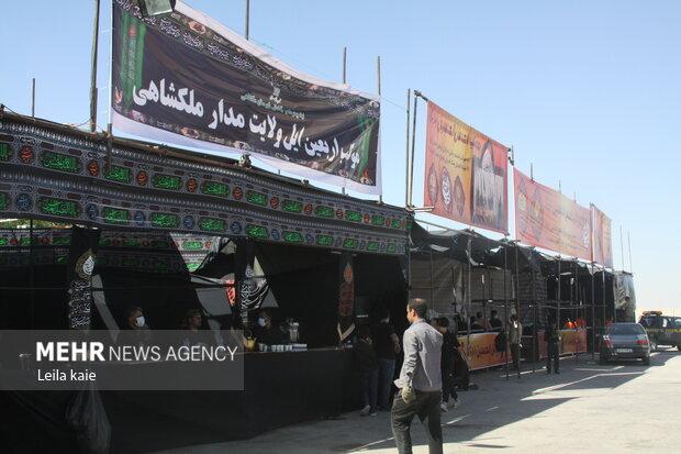 ۱۲ موکب برای برگشت زائران در مرز مهران دایر می شود