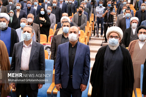 مراسم تودیع و معارفه استاندار جدید بوشهراحمد محمدیزاده