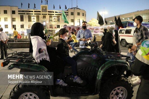 Commemorating Sacred Defense in Mashhad