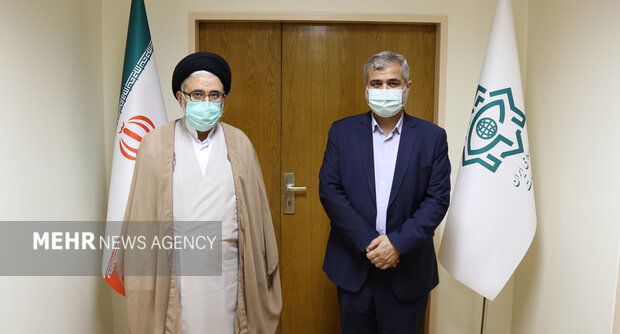 دادستان تهران با وزیر اطلاعات دیدار کرد