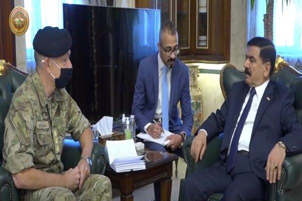 رایزنی وزیر دفاع عراق با فرمانده ناتو