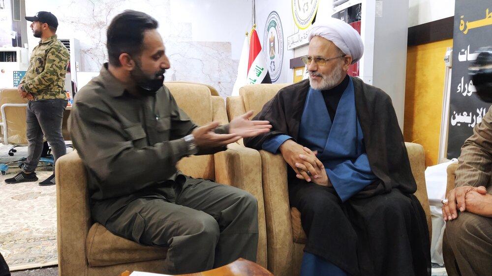 ما زیر پرچم امام خمینی بزرگ شدیم/باید اربعین را جهانی برگزار کنیم