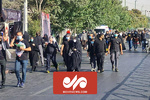 تہران میں اربعین حسینی کے موقع پر حسینی عزاداروں کا پیدل مارچ
