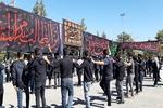 عزاداری مردم آذربایجان غربی در اربعین حسینی