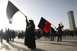 پیادهروی جاماندگان اربعین در تهران برگزار شد