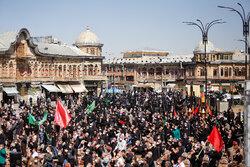 تجمع جاماندگان اربعین حسینی در همدان