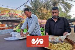 مراسم تجلیل از موکب داران حسینی در عراق