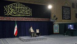 Leader at recitation ceremony of Arbaeen supplications