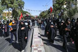 راهپیمایی بزرگ جاماندگان اربعین در بجنورد