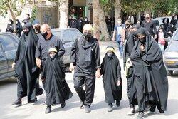 پیادهروی جاماندگان اربعین در مشهد