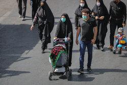 پیادهروی جاماندگان اربعین بهسوی حرم حضرت عبدالعظیم حسنی