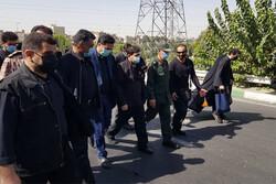 حضور مخبر در مراسم جاماندگان اربعین تهران
