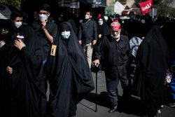 پیادهروی جا ماندگان اربعین در قزوین