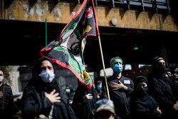 مراسم راهپیمایی جاماندگان اربعین حسینی(ع) در تهران-۲