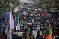 مراسم راهپیمایی جاماندگان اربعین حسینی(ع) در تهران-۳