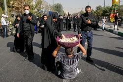 مراسم راهپیمایی جاماندگان اربعین حسینی(ع) در تهران- ۴