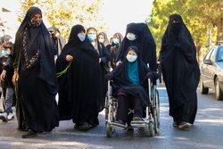 خروش جاماندگان اربعین حسینی در قزوین