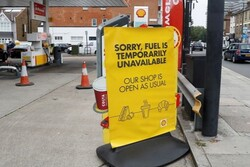 'Up to 90 percent' of UK petrol pumps dry amid panic buying